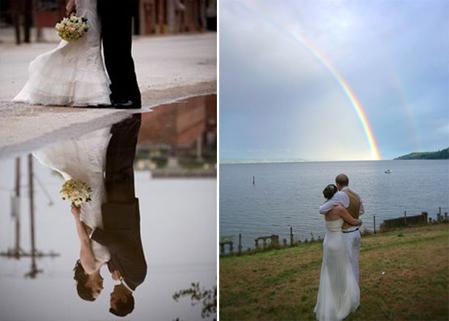 Idée météo pour un mariage