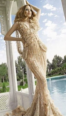 Robe de soiree mariage sirene