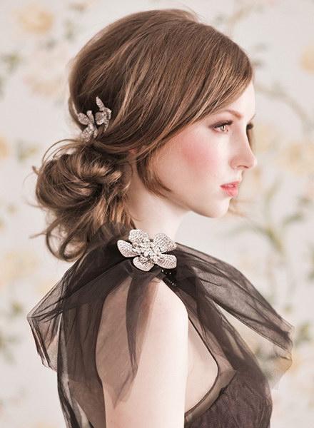 Tendance de coiffures de mariée chic 2012-2013(I) | Blog officiel de PERSUN.FR