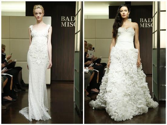 robe blanche de mariée longues et appliquées