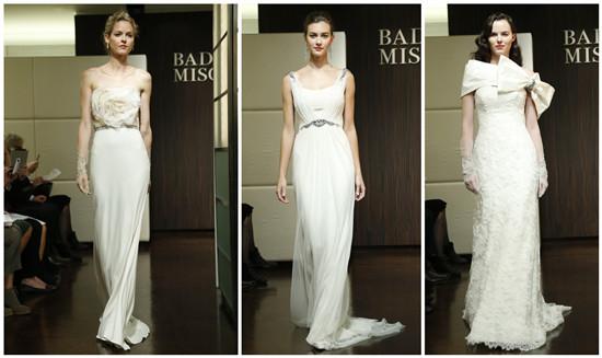 robe de mariee blanches à fleurs ou à noeud papillon
