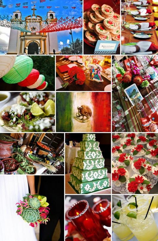 tous les détails d'un mariage façon mexicaine