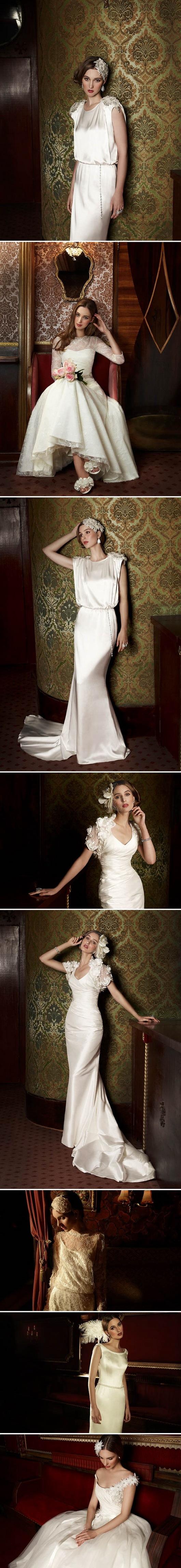 Collection robes mariage vintage et rétro pour rubrique Citation du jour