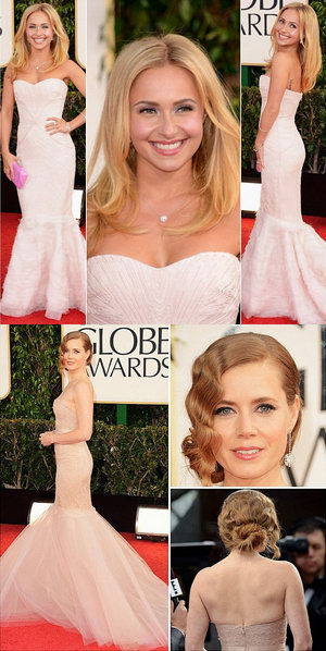 Golden Globes 2013 : comment les stars portent leurs robes