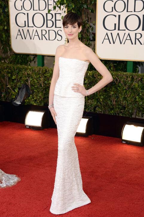 Tapis rouge de Golden Globes 2013 bondé de glamour