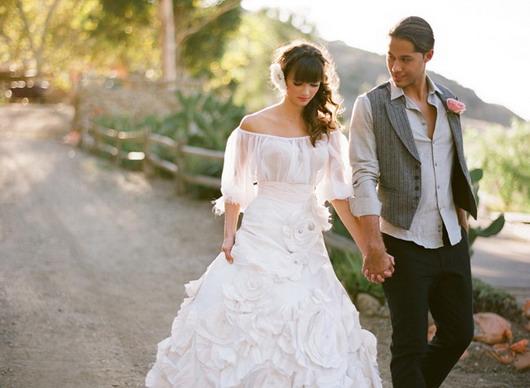 Robe de soiree pour mariage espagnol