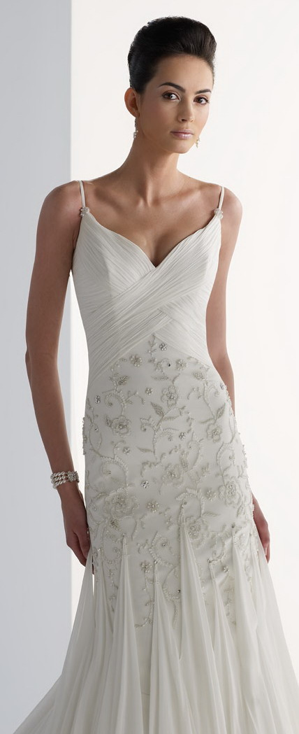 Esprit l ger s lection robes mariage bretelle spaghetti blog officiel de persun fr - Robe style charleston pour mariage ...