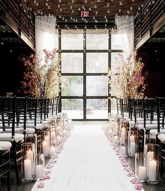 salle de cérémonie pour un mariage de luxe