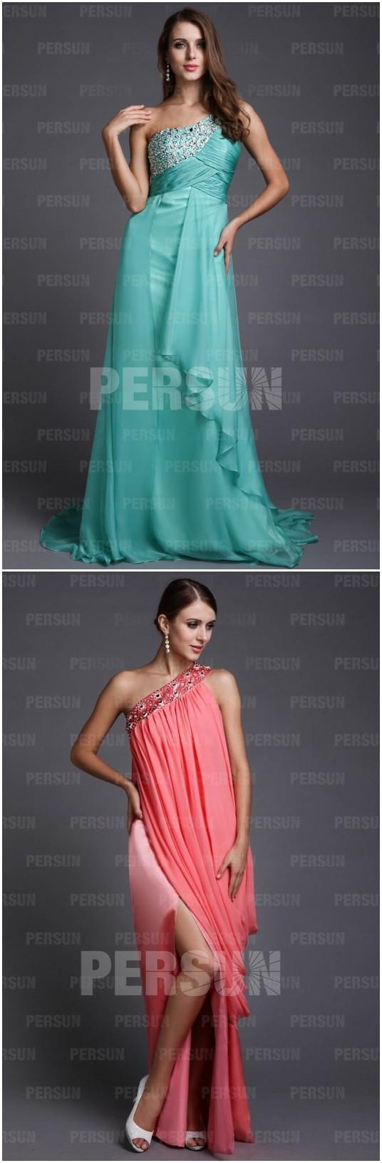 robes asymétriques de la nouvelle collection 2013