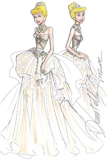 Une robe de bal bustier avec une marque de Méduce, créé par Versace.
