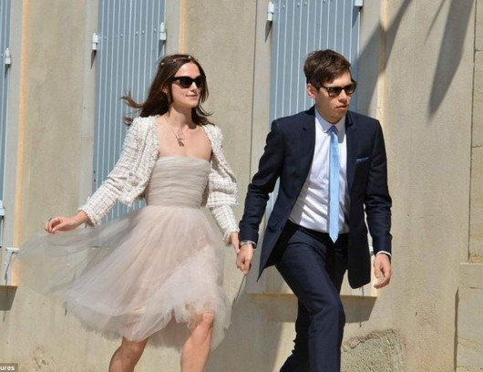 Keira Knightley et James Righton se sont mariés au Sud de la France