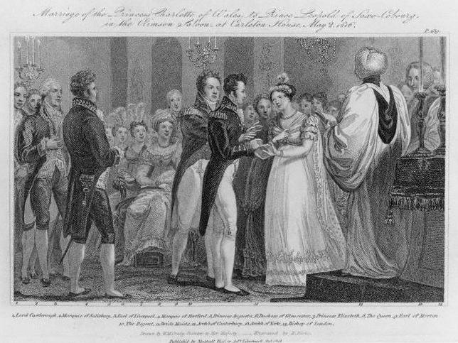 Photo noir et blanc de Robe mariage portée par une princesse
