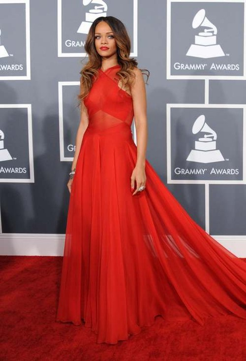 Plus belle robe rouge