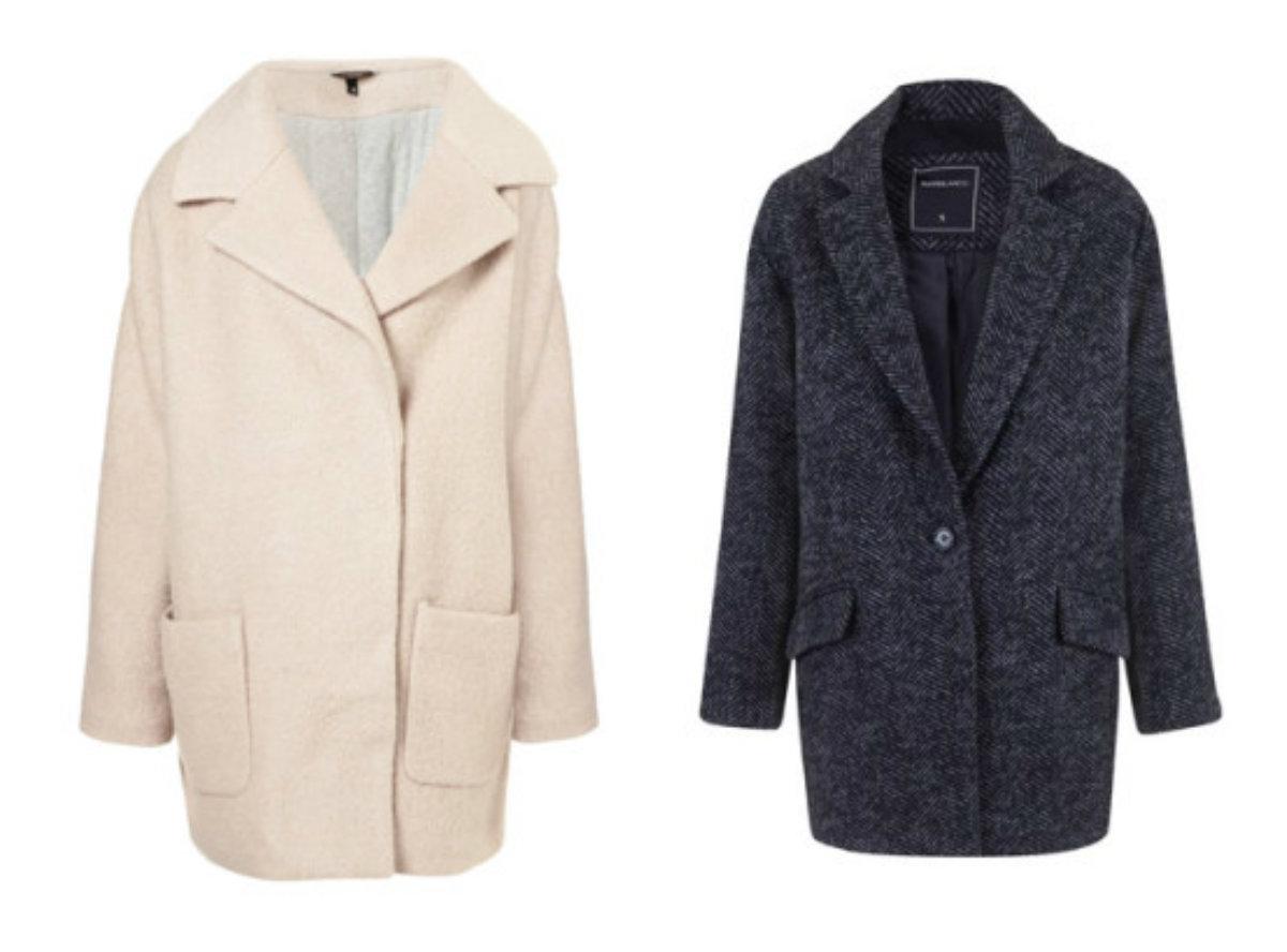 Le manteau oversize est un bon choix pour les saisons froide.