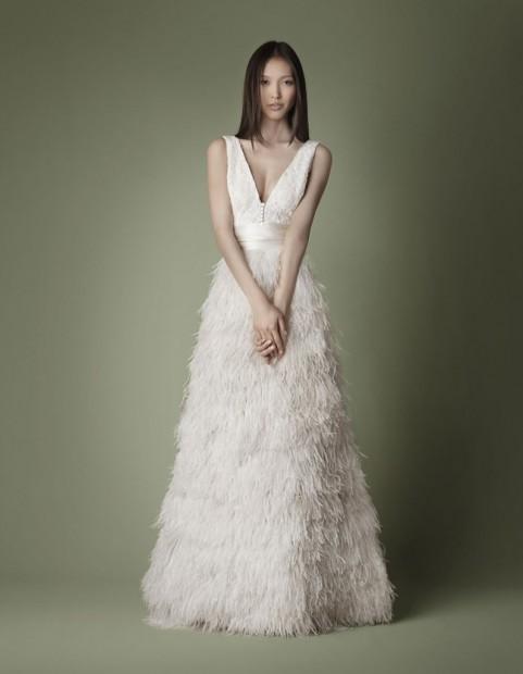 Une robe hors du commun pour un mariage exceptionnel ii blog officiel de persun fr - Robe blanche vintage ...