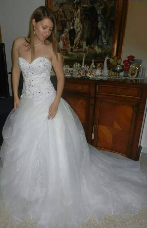customer review site persun.fr wedding gown