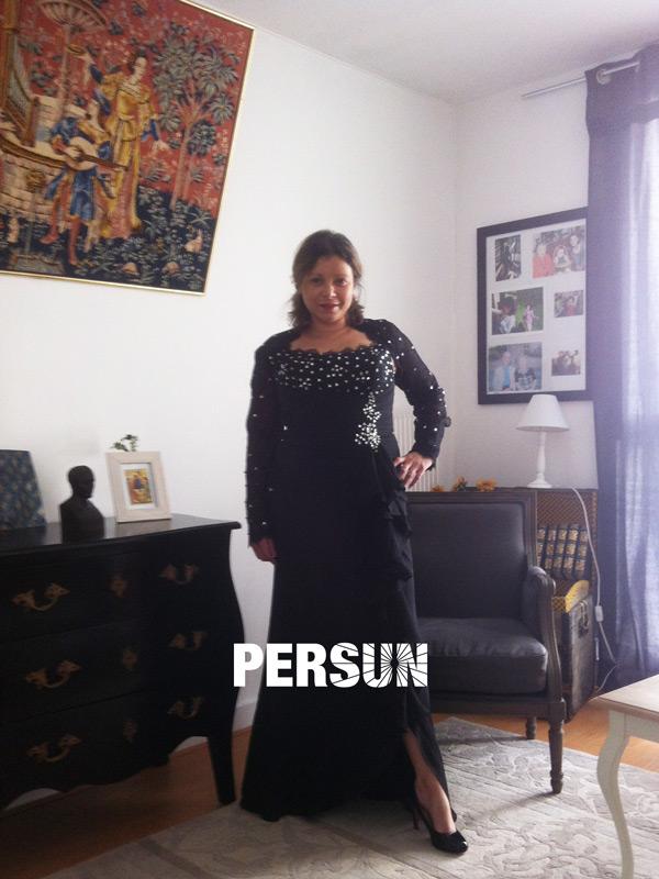 Robe mère mariée photo client persun.fr