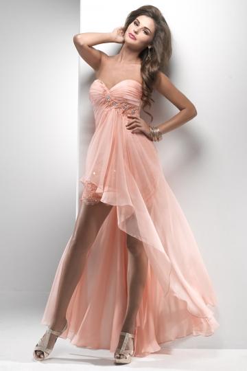 robe de bal bustier coeur