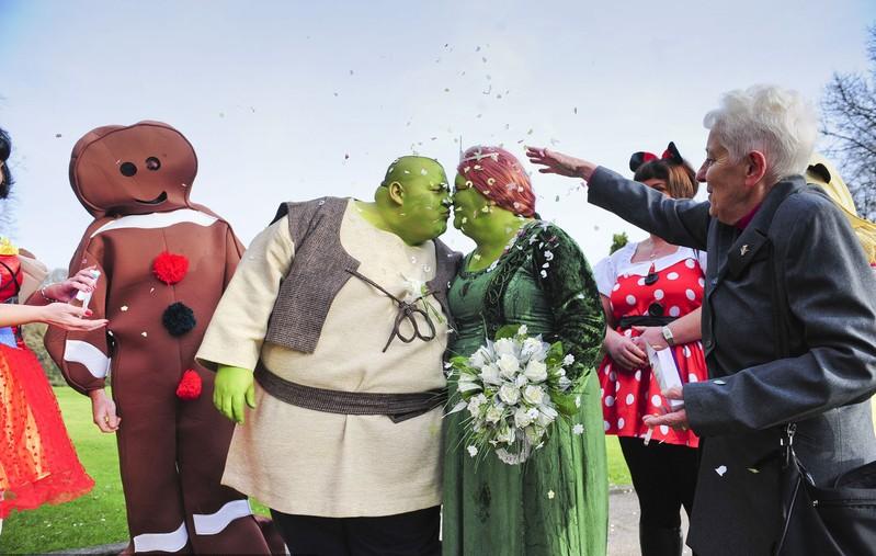 Mariage de Shrek