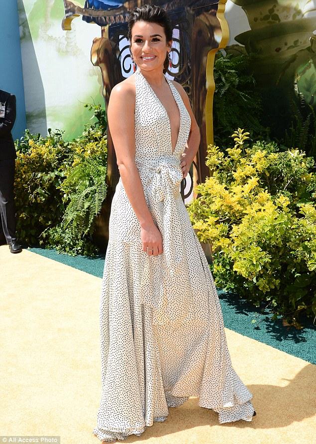 Lea Michele à l'avant-première du film Legends of Oz