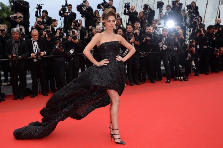 La robe bustier noire qui a subjugué l'assemblée cannoise