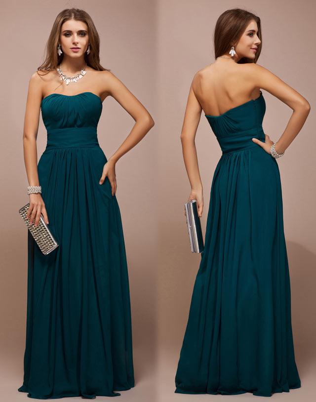 robe-empire-cortege-demoiselle-vert-pin