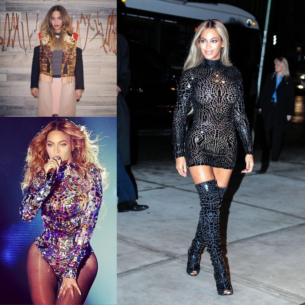 Beyoncé avec ses tenues magnifiques