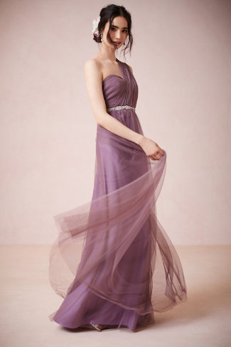 robe-demoiselle-dhonneur-longue-simple-elegant-2016