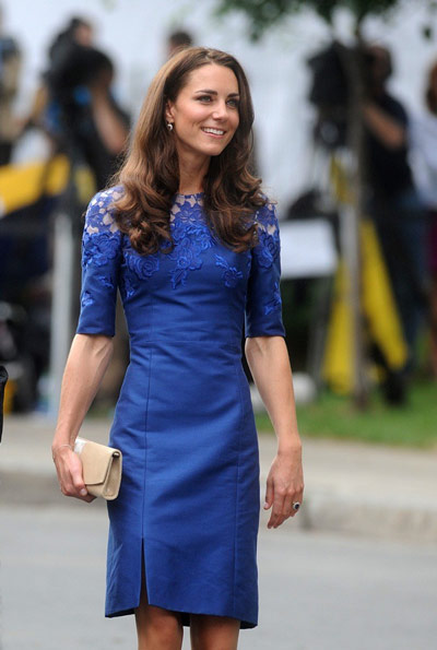 Kate-middleton-robe-bleue