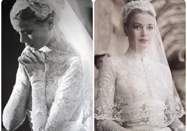 grace kelly princesse belle mariee