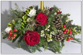 bouquet mariage noel