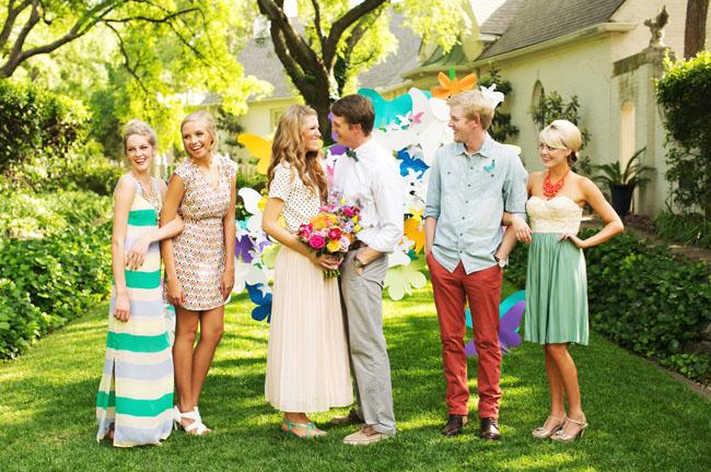 jardin mariage du jour
