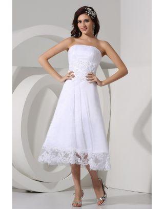 Cheville longueur des robes de mari e vous faire la plus for Robes de mariage du monde de disney