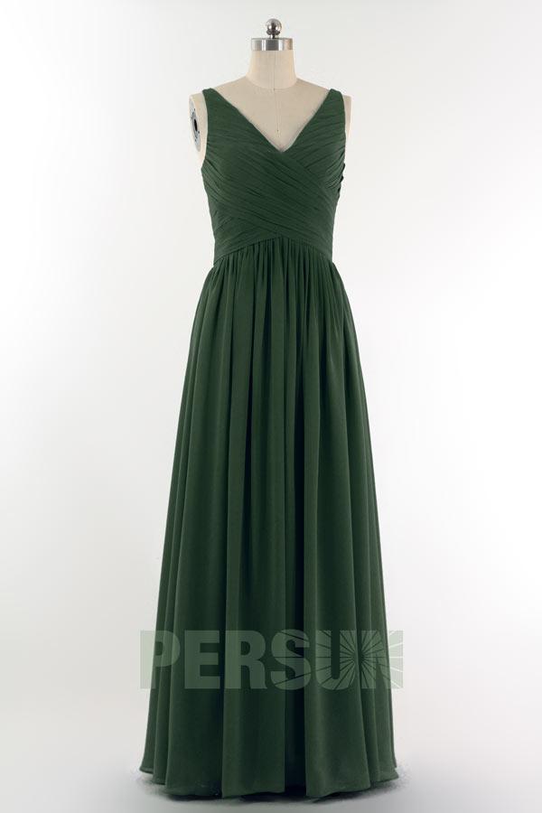 solde robe demoiselle d 39 honneur verte sapin taille 48. Black Bedroom Furniture Sets. Home Design Ideas