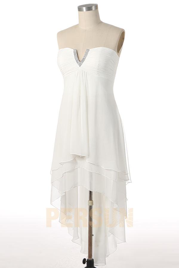 Robe blanc taille 46