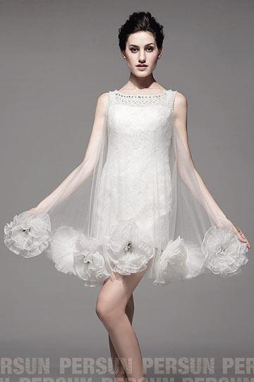Accueil Robe de mariée Robe de mariée moderne Robe de mariée unique ...