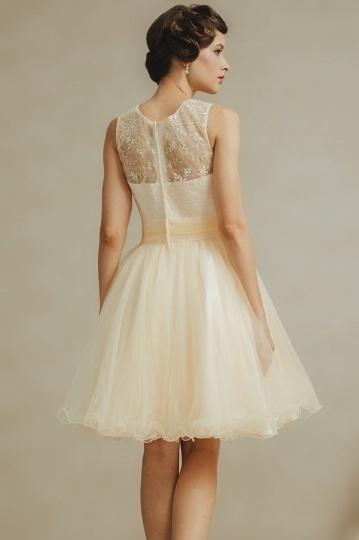 romantique mini robe pour tmoin de mariage bretelle fine - Robes De Temoin Pour Mariage