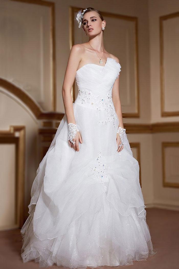lissa robe de mari e princesse avec jupe romantique en
