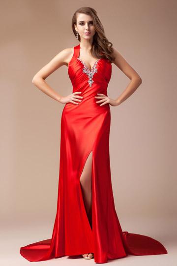 366e93afb74 Robe soiree rouge 2019 – Robes de soirée élégantes populaires en France