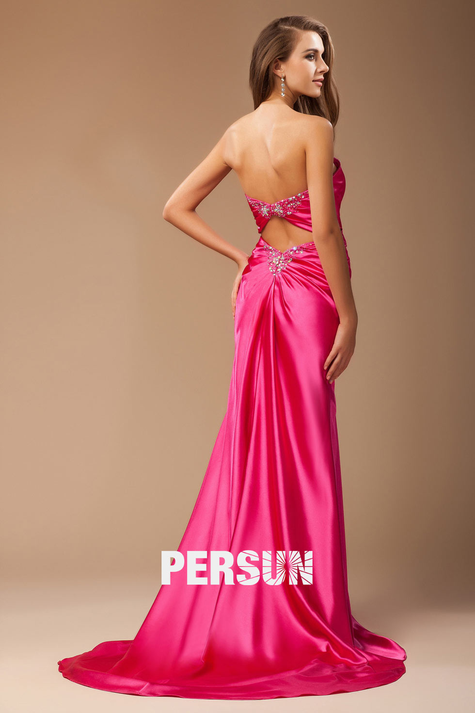 robe sexy longue pour soirée ou concours beauté