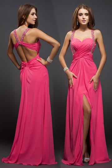 robe-sexy-bustier-coeur-dos-nu-avec-fente-frontale-bretelles-fines-bijoutees