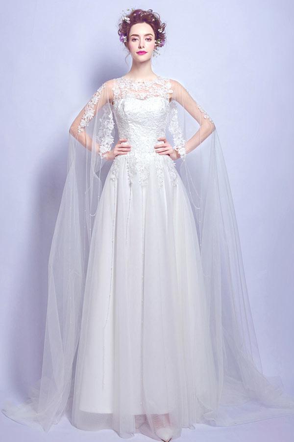Robe de mariée Robe de mariée dentelle Chic robe de mariée dentelle ...