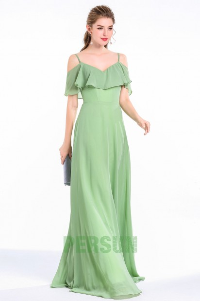 Robe champetre femme ronde