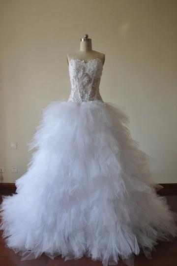Robe de mariée Angel conçue par Madame Staempfli
