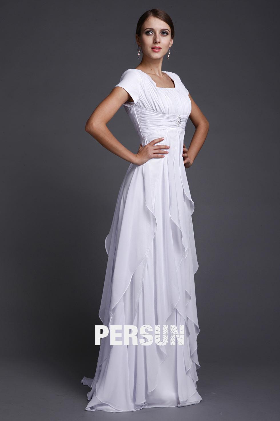 397e093fc626 Robe manche courte pour mariage robe a bustier
