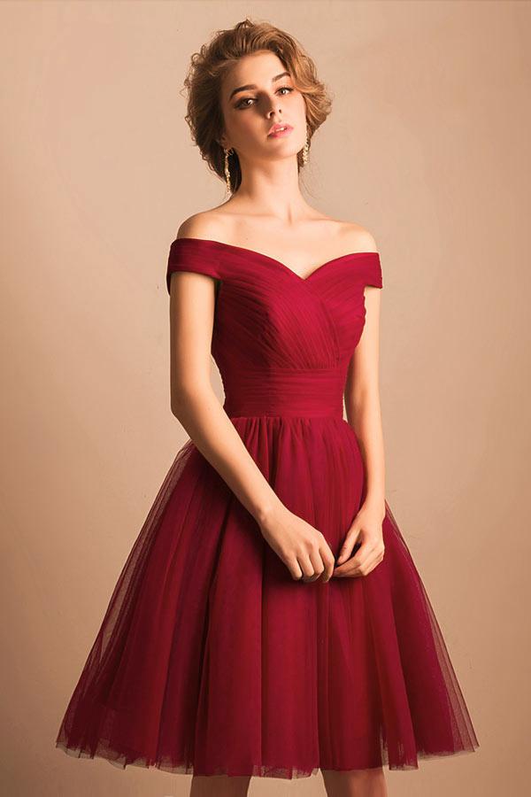 robe rouge courte pour cocktail de mariage avec paule dgage - Robes De Ceremonies Mariage