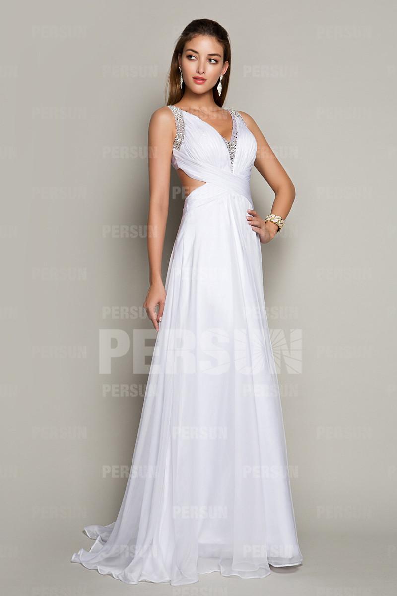 robe-de-soiree-blanche-avec-bretelles-croisees