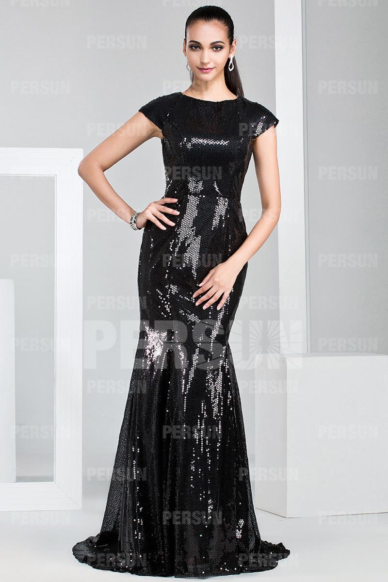 robe de soiree chic 2017 la mode des robes de france. Black Bedroom Furniture Sets. Home Design Ideas