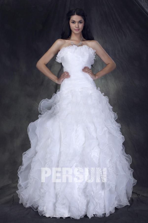Bien connu Robe de mariée princesse pas cher - Persun.fr NI22