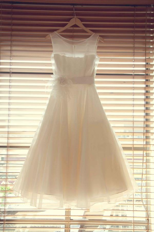 robe-de-mariee-courte-ligne-A